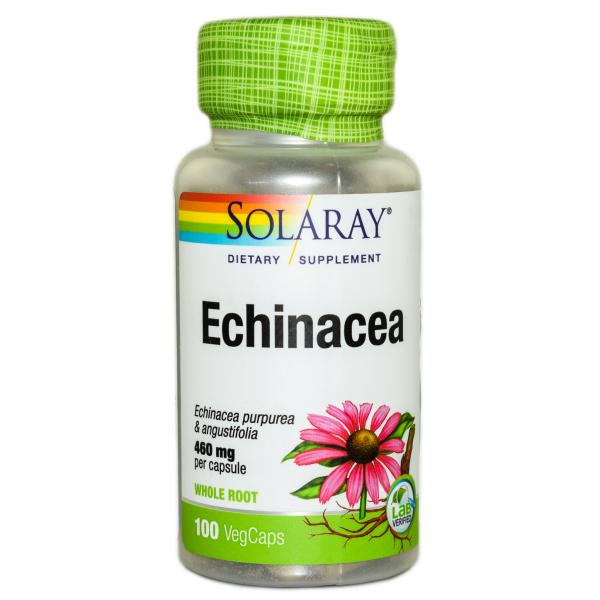Echinacea Solaray, 100 capsule, Secom 0