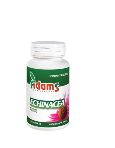 Echinaceea 400mg, 30 tablete, Adams Vision 0