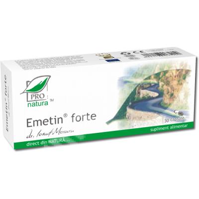 Emetin Forte, 30 capsule, Medica 1