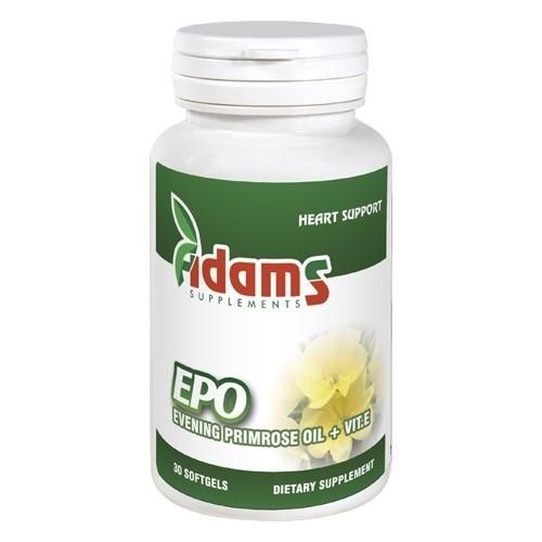 Epo Ulei Luminita Noptii 1000mg, 30 tablete, Adams Vision 0
