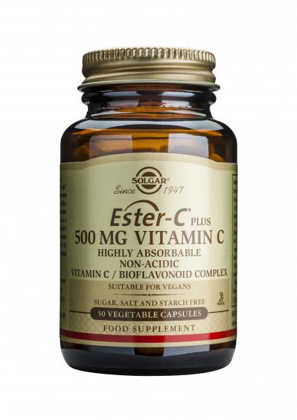 Ester-C Plus 500 mg, 50 capsule, Solgar [0]