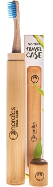 Etui din bambus pentru periuta de dinti 0
