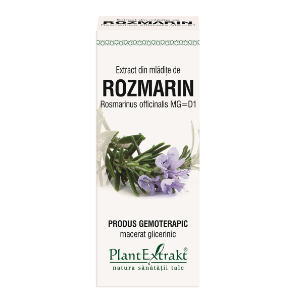 Extract din mlădițe de Rozmarin, 50 ml, Plant Extrakt [0]