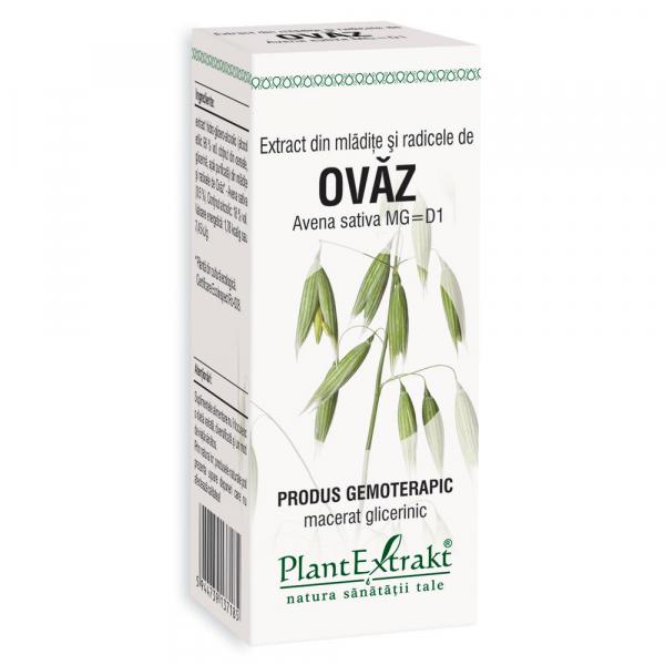 Extract din mlădițe și rădicele de ovăz, 50 ml, Plant Extrakt [0]