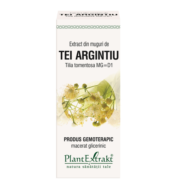 Extract din muguri de Tei Argintiu, 50 ml, Plant Extrakt [0]