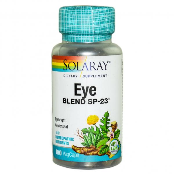Eye Blend Solaray, 100 capsule, Secom 0