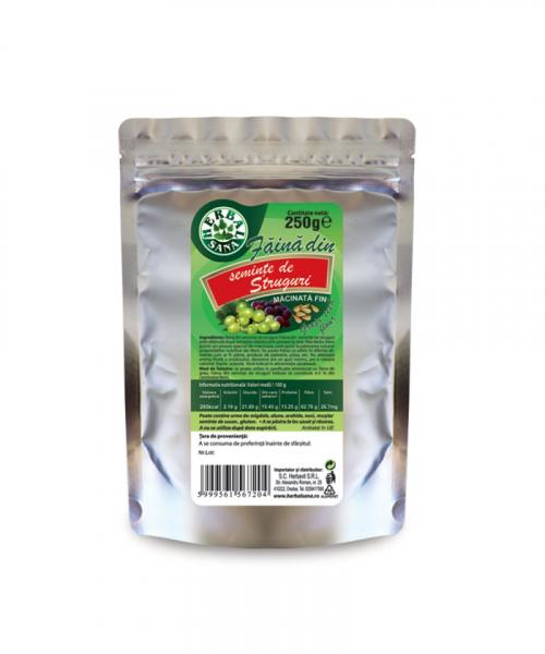 Faina seminte de struguri, 250g, Herbavit 0