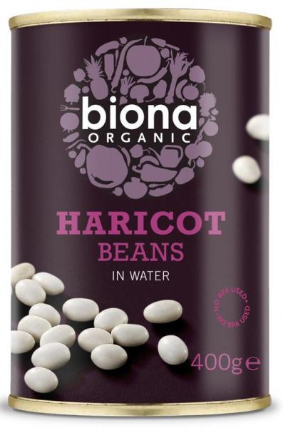 Fasole alba Haricot bio 400g Biona 0