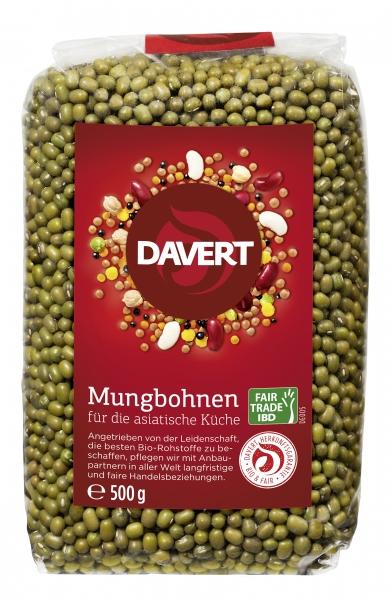 Fasole mung bio 500g Fairtrade, DAVERT 0