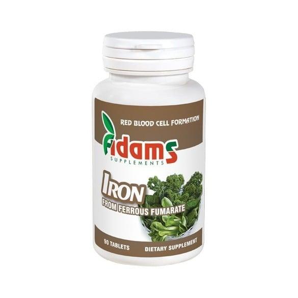 Fier (iron) 90 tablete, Adams Vision 0