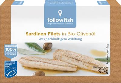 File de sardine in ulei de masline ecologic 0