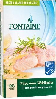 File de somon salbatic in sos bio de mustar si miere 0