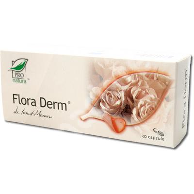 Flora Derm, 30 capsule, Medica 0