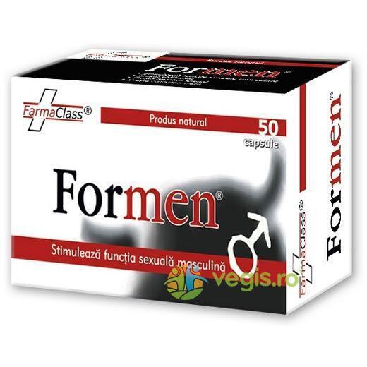 Formen, 50 capsule, FarmaClass 0