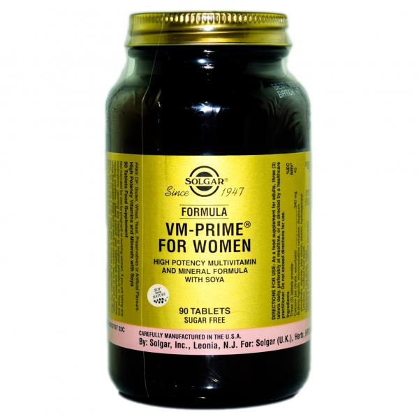 Formula VM prime for women 90cps Solgar 0