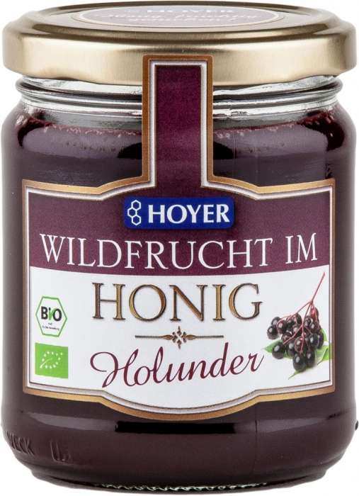 Fructe de soc in miere eco 250g Hoyer [0]