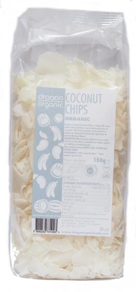 Fulgi raw de cocos bio 150g 0
