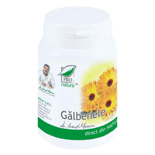 Galbenele, 60 capsule, Medica 0