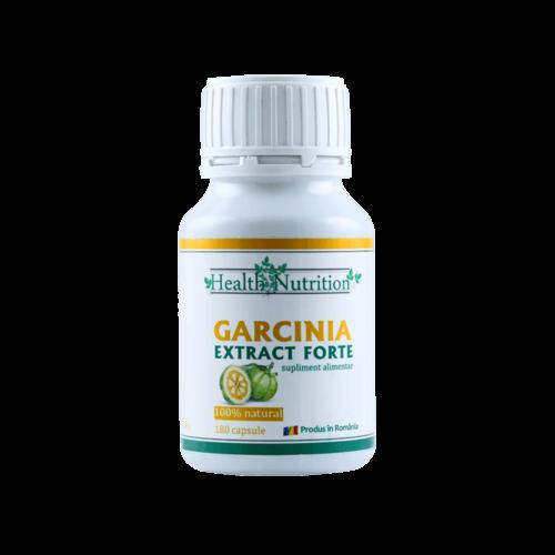 Garcinia Extract Forte 100% naturala, 180 capsule, Health Nutrition [0]