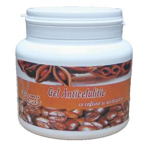 Gel Anticelulitic cu Cafeina & Scortisoara, 500ml, Kosmo Line [0]