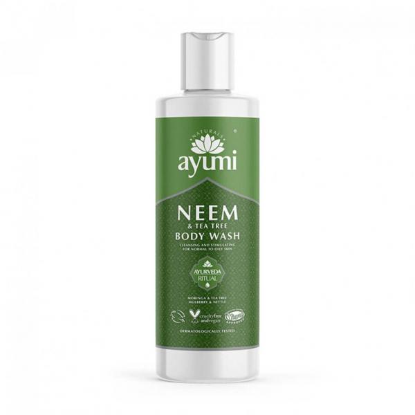 Gel de dus cu Neem Tea Tree, Ayumi, 250 ml 0