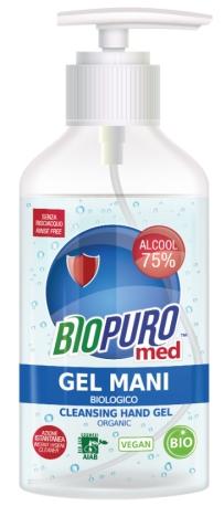Gel igienizant pentru maini bio 250ml Biopuro 0