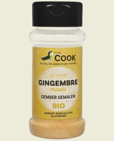 Ghimbir macinat bio 30g Cook 0