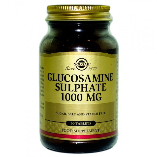 Glucozamina Sulfat 1000mg tabs 60cps SOLGAR 0