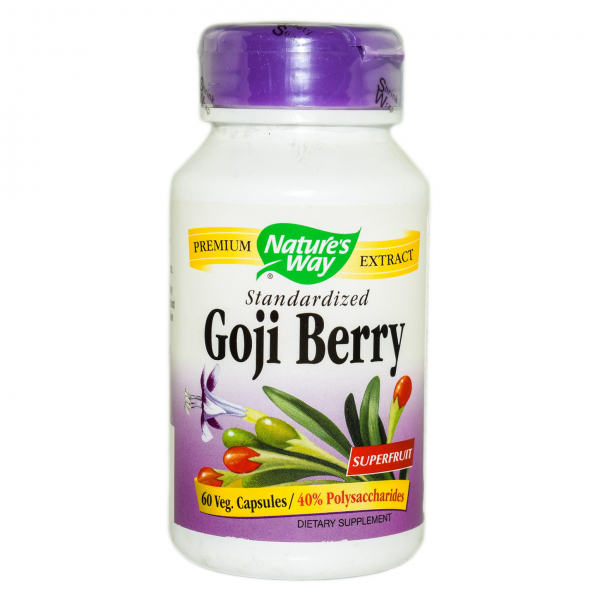 Goji Berry Nature's Way, 60 capsule, Secom 0