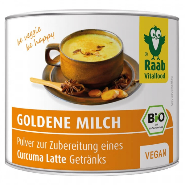 Golden Milk bio 70g (bautura instant cu turmeric) RAAB 0