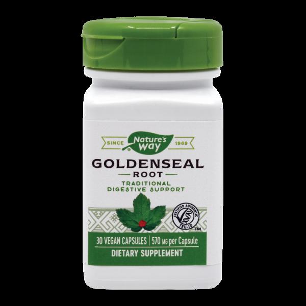 Goldenseal Root 570 mg Nature's Way, 30 capsule, Secom 0