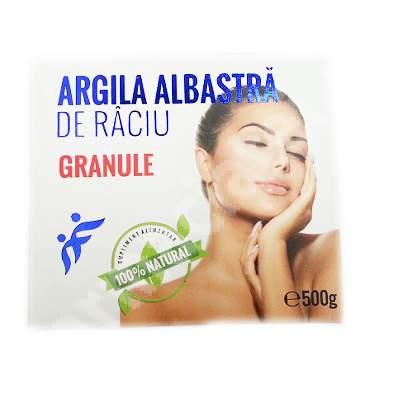 Granule de Argila Albastra de Raciu, 500 g, Romcos 0