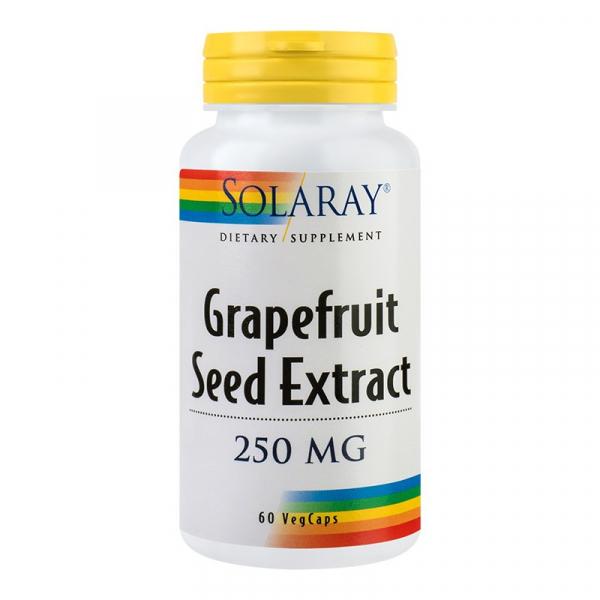 Grapefruit Seed Extract Solaray, 60 capsule, Secom 0