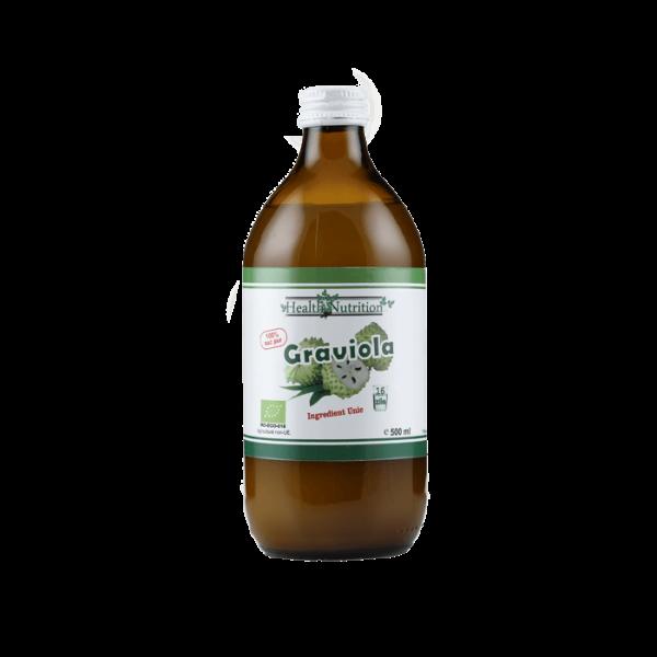 Suc de graviola 100% Pur, Bio, 500ml 0