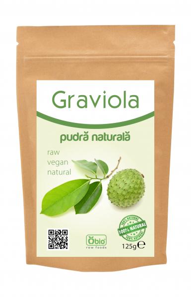 Graviola pulbere raw 125g 0