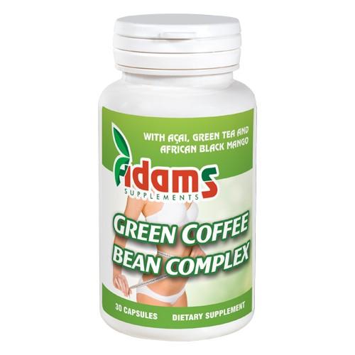 Green Coffee Bean Complex, 30 capsule, Adams Vision 0