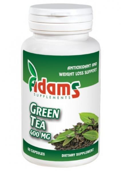 Green Tea (ceai verde) 400mg, 60 tablete, Adams Vision 0