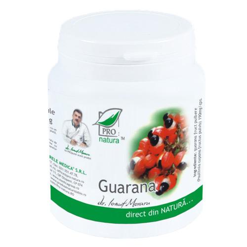 Guarana, 200 capsule, Medica 0