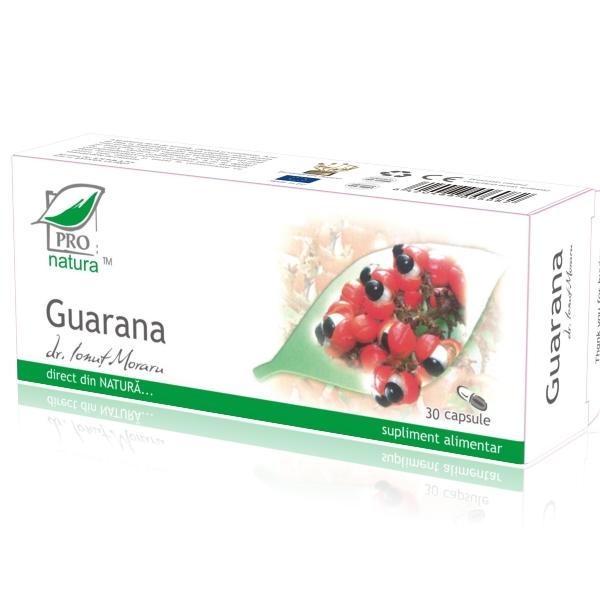 Guarana,  30 capsule, Medica 0