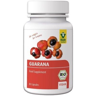 Guarana bio 500mg, 80 capsule vegane RAAB 0