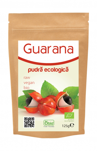 Guarana pulbera raw bio 125g 0