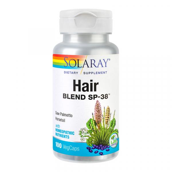 Hair Blend Solaray, 100 capsule, Secom [0]