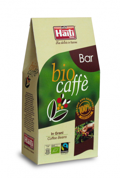 Cafea BIO Boabe, Caffe' Haiti Roma, Bar, 200 gr 0