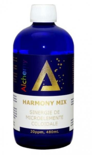 Sinergie de argint, magneziu si cupru coloidal, Harmony Mix, 20ppm, 480ml, Aghoras Invent 0