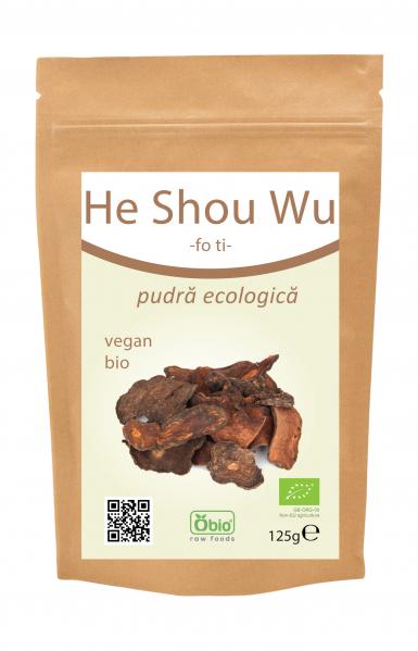 He Shou Wu (Foti) pulbere bio 125g 0