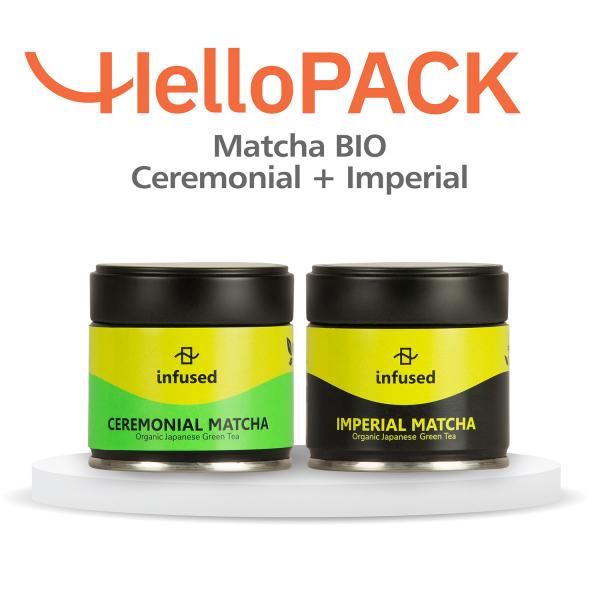HelloPACK - Ceai Matcha BIO Imperal si Ceremonial 0