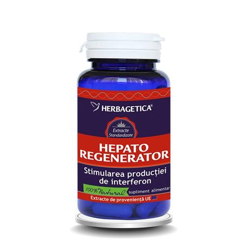 Hepato regenerator, 30 capsule, Herbagetica 0