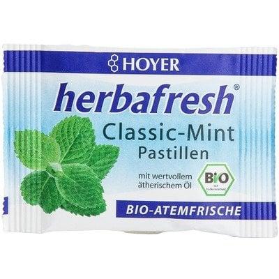Herbafresh clasic pastile respiratie proaspata cu menta eco 17g 0