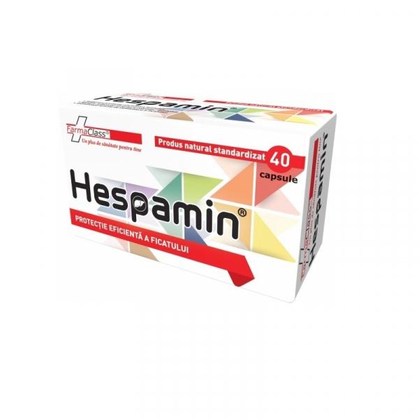 Hespamin, 40 capsule, FarmaClass 0