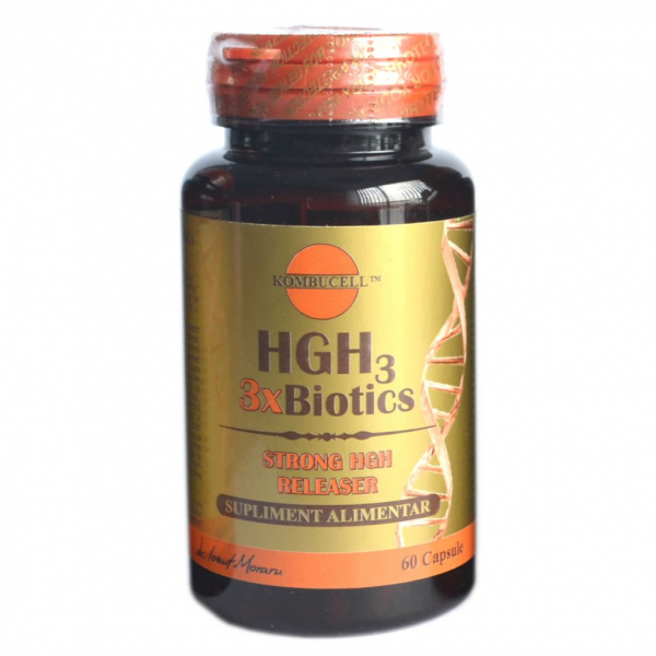 Hgh3 3xbiotics 60 capsule, Medica 0